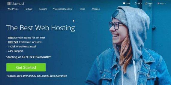 Bluehost:WordPress发布之前的设置