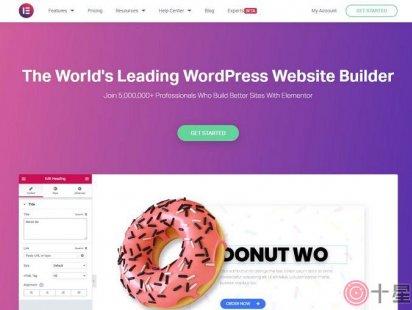 WordPress页面编辑器插件推荐:Elementor
